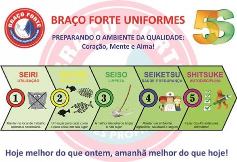 32ccd51f7efc2 Braço Forte - Uniformes Profissionais
